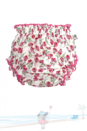 Bloomer Mademoiselle Croisette en Liberty Ros Made in France